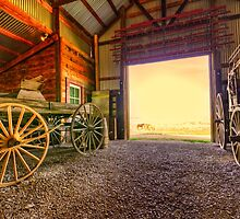 1880 Town Barn by JohnDSmith