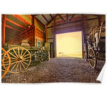 1880 Town Barn Poster