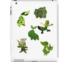Grass Type Starters iPad Case/Skin