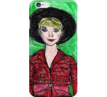 Carey Mulligan En Vogue iPhone Case/Skin