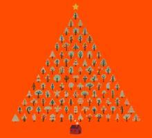 Christmas Treeangle (light version) Kids Clothes