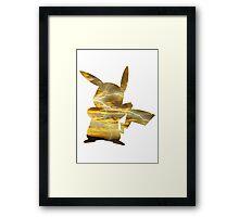 Pikachu used Thunderbolt Framed Print