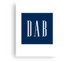Dab Gap Logo  Canvas Print