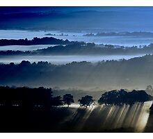 Blues at Sunrise by Aaron .