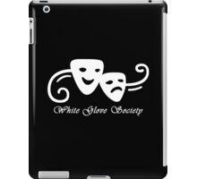 White Glove Society Logo  iPad Case/Skin