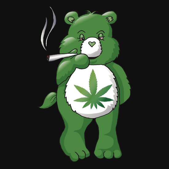 Ganja Bear T-Shirts & Hoodies