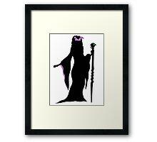 Maleficent Framed Print