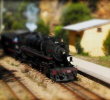 New Toy Train by diggle