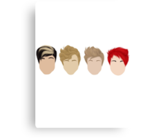5 Seconds of Summer - Minimalism Canvas Print