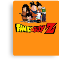 Family Guy Z Canvas Print