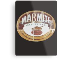 Marmite Vintage Metal Print