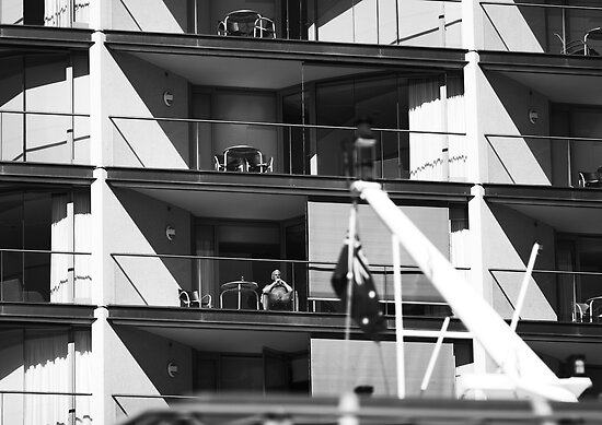 The Queen Of Circular Quay by camerajuice