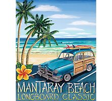 Mantaray Beach Photographic Print