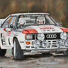 Audi Quattro by iconic-arts
