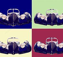 Bugatti 57sc atlantic by Fedegolf