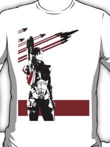 N7- Commander Shepard (Female) T-Shirt