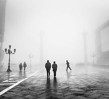 Fog In San Marco, Venice, Italy (2011) by Andy Parker