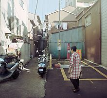 mid-morning in a japanese chinatown by meanderthal