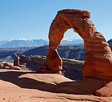 Delicate Arch at Arches National Park by Martin Lawrence
