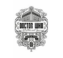 Doctor Who All the Time and Space Vintage Photographic Print