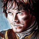 Sam Heughan, Jamie Fraser, cat's eyes... by jos2507