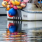 Buoys and reflections  by Linda Sparks
