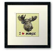 I love Music! Framed Print