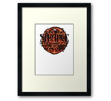 marvel's doctor strange Framed Print