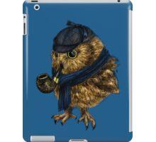 Sherlock // owl iPad Case/Skin