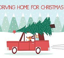 Driving Home For Christmas by KarinBijlsma