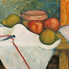 Apple &amp; Pear Still Life by Marilyn Brown