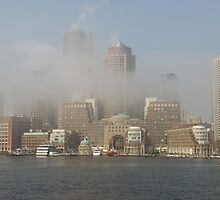 Boston in Fog by Craig Goldsmith