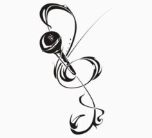 Treble clef / mic by Mazrad