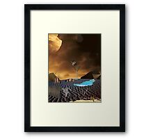 Toast to Reality Framed Print