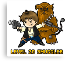 Level 20 Smuggler Canvas Print
