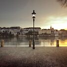 By the Rhein, Basel. by Laurent Hunziker