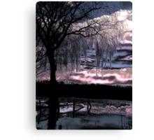 Metalic Sunset Canvas Print