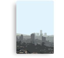 tel aviv haze Canvas Print