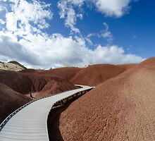 Painted Hills by SandrineBoutry
