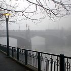 Foggy Princes Bridge by Andrew Wilson
