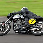 Norton Manx 498cc Motorcycle by Andrew Harker
