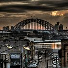 Harbour Bridge from Victoria Road 1 by Alexander Kesselaar