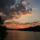 sunset over eilden by patty keevil