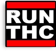 RUN THC Canvas Print