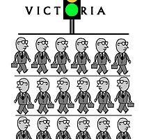Melbourne Victoria Australia by MrCreator