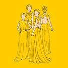 Alexander McQueen Canary Yellow Gown by Victoria Ellis