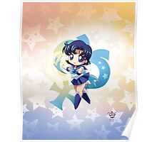 Chibi Super Sailor Mercury Poster