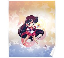Chibi Super Sailor Mars Poster