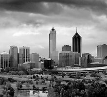 Perth Skyline by Evan Schoo