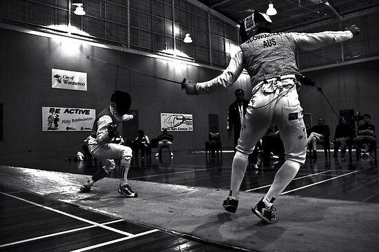 Australian National Fencing Tournament 2007, Perth WA held from the 9th of June 2007 to the 13th. by noonkey